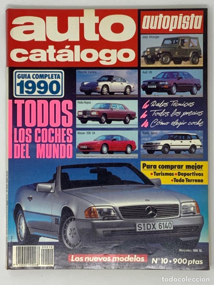 AUTO CATÁLOGO AUTOPISTA Nº10 (Coches y Motocicletas - Revistas de Motos y Motocicletas)