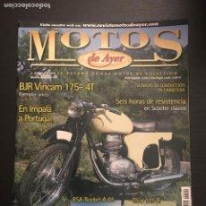 Coches y Motocicletas: MOTOS DE AYER Nº 99 - BJR VINCAM / BSA ROCKET A65 / CLUA 125 R / MONTESA IMPALA A LISBOA. Lote 184217666