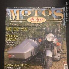 Coches y Motocicletas: MOTOS DE AYER Nº 95 - MZ ETZ 250 / CAGIVA FRECCIA / OSSA ENDURO 250 E73 / BMW GUERRA. Lote 184218137