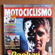 Coches y Motocicletas: MOTOCICLISMO 1623 BIMOTA SB8R BMW K 1200 LT HONDA GL 1500 GOLD WING SE KAWASAKI VN 800 1500 DRIFTER. Lote 184233325
