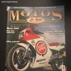 Coches y Motocicletas: MOTOS DE AYER Nº 89 - SUZUKI RG 500 / VESPA VESPACAR / BSA GOLDSTAR / FOPI / MANUEL GOMEZ YSLA. Lote 184291783