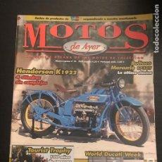 Coches y Motocicletas: MOTOS DE AYER Nº 78 - BULTACO MERCURIO 175 GT / HENDERSON K 1922 / WORLD DUCATI WEEK /TOURIST TROPHY. Lote 184297711