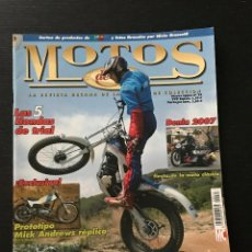 Coches y Motocicletas: MOTOS DE AYER Nº 74 - HONDA TRIAL TL RS TLR RTL / MONTESA CAPPRA 360 GP / OSSA MICK ANDREWS PROTO. Lote 184364936