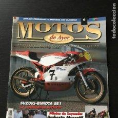 Coches y Motocicletas: MOTOS DE AYER Nº 69 - SUZUKI BIMOTA SB 1 / UMBERTO MASSETTI / BULTACO MEMORIAL / VOLTA MALLORCA. Lote 184366386