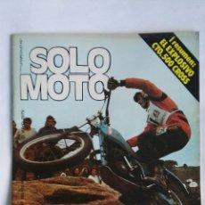 Coches y Motocicletas: REVISTA SOLO MOTO MAYO 1979 193. Lote 184377870