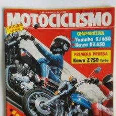 Coches y Motocicletas: REVISTA MOTOCICLISMO 803 1983 Z 750. Lote 184670020