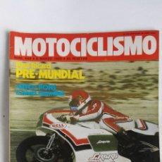 Coches y Motocicletas: REVISTA MOTOCICLISMO 649 1980 SITO PONS. Lote 184670135