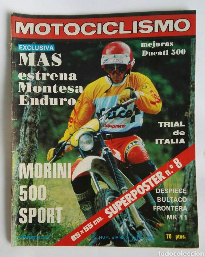REVISTA MOTOCICLISMO 619 1976 MONTESA DUCATI 500 (Coches y Motocicletas - Revistas de Motos y Motocicletas)