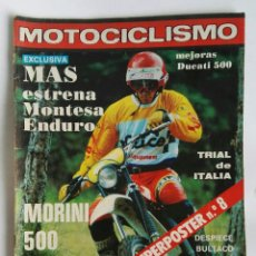 Coches y Motocicletas: REVISTA MOTOCICLISMO 619 1976 MONTESA DUCATI 500. Lote 184670426