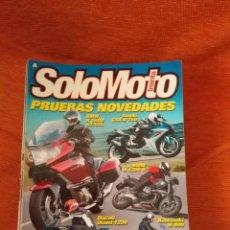 Coches y Motocicletas: LOTE DE 13 REVISTA -. SOLOMOTO .- , ENTRE LOS Nº 338 Y 357. Lote 184789343