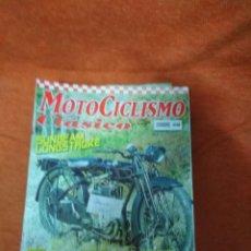Coches y Motocicletas: LOTE DE 11 REVISTA -. MOTOCICLISMO CLÁSICO .- , LOTE 1 - ENTRE LOS Nº 43 Y 72. Lote 184791325