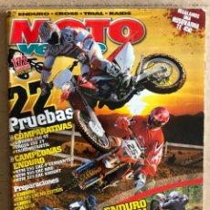 Coches y Motocicletas: MOTO VERDE N° 330 (2006). ENDURO - CROSS - TRIAL - RAIDS. 22 PRUEBAS COMPARATIVAS,.... Lote 185930142