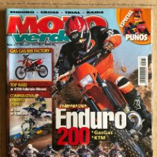 Carros e motociclos: MOTO VERDE N° 274 (2001). ENDURO - CROSS - TRIAL - RAIDS. GAS GAS, KTM, YAMAHA, TM,.... Lote 185980587
