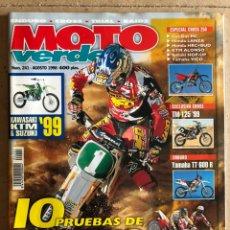 Coches y Motocicletas: MOTO VERDE N° 241 (1998). ENDURO - CROSS - TRIAL - RAIDS. GAS GAS, KAWASAKI, HONDA, KTM, SUZUKI,.... Lote 185982257