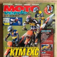 Carros e motociclos: MOTO VERDE N° 240 (1998). ENDURO - CROSS - TRIAL - RAIDS. HONDA, HUSABERG, YAMAHA, KTM,.... Lote 185982327