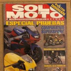 Coches y Motocicletas: SOLO MOTO ACTUAL N° 983 (1995). ESPECIAL PRUEBAS. INCLUYE POSTER MICK DOOHAN,.... Lote 186024045
