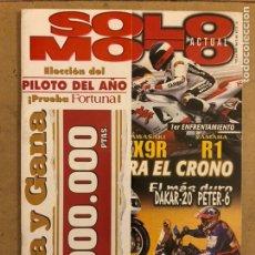 Coches y Motocicletas: SOLO MOTO ACTUAL N° 1128 (1998). HONDA CBR-RR, KAWASAKI ZX9R, YAMAHA R1, HONDA VFR 800,.... Lote 186314415