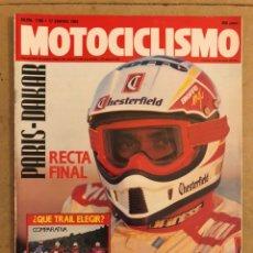 Coches y Motocicletas: MOTOCICLISMO N° 1195 (1991). GOLDWING ANIVERSARIO, HQRLEY STURGIS, KAWASAKI 250/400,.... Lote 186461692