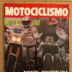Coches y Motocicletas: MOTOCICLISMO N° 1193 (1991). HONDA NSR 500 GARDNER, ASPAR, BOLUDA, SUPLEMENTO MOTO 50,.... Lote 186461813