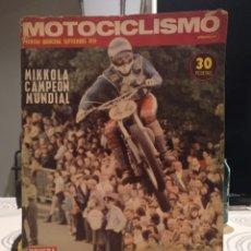 Coches y Motocicletas: REVISTA MOTOCICLISMO PRIMERA QUINCENA SEPTIEMBRE 1974 PRUEBA SUZUKI DRESDA 750. Lote 187511820