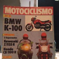 Coches y Motocicletas: REVISTA MOTOCICLISMO - Nº 817 - 10 SEPTIEMBRE 1983.. Lote 187514290
