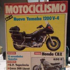 Coches y Motocicletas: REVISTA MOTOCICLISMO NÚMERO 805. AÑO 1983. 18 JUNIO. G. P. YUGOSLAVIA. CCAVENDE. Lote 187514671