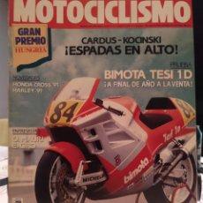 Coches y Motocicletas: REVISTA MOTOCICLISMO Nº 1176, DEL 6 DE SEPTIEMBRE DE 1990. Lote 187517718