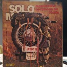 Coches y Motocicletas: REVISTA SOLO MOTO - AÑO 2 - NUMERO 42 - 18 JUNIO 1976. Lote 187527735