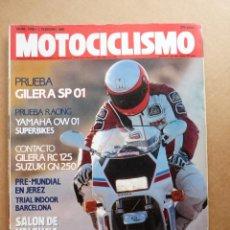 Carros e motociclos: MOTOCICLISMO 1146 GILERA SP 01 125 SUZUKI GN 250 GILERA RC 125 TOP RALLY YAMAHA OW 01 TERRY RYMER. Lote 188714245