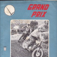 Carros e motociclos: REVISTA GRAND PRIX Nº1 ABRIL 1960 GP MONTJUICH. Lote 189834682