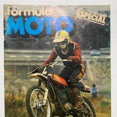 Coches y Motocicletas: REVISTA ESPECIAL FORMULA MOTO MONTESA CAPPRA 125 CROSS. Lote 190015687