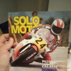 Coches y Motocicletas: REVISTA SOLO MOTO - AÑO 4 - NUMERO 143 - 1 JUNIO 1978 - IMPECABLE ESTADO. Lote 190778577
