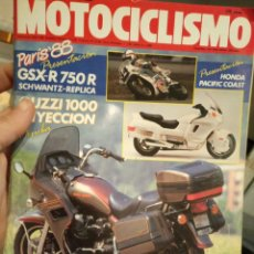 Coches y Motocicletas: REVISTA MOTOCICLISMO Nº 1083. AÑO 1988. 24 NOVIEMBRE. Lote 190782408