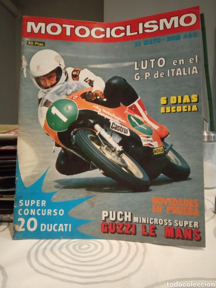 REVISTA MOTOCICLISMO - NUMERO 460 - AÑO 1976 (Coches y Motocicletas - Revistas de Motos y Motocicletas)