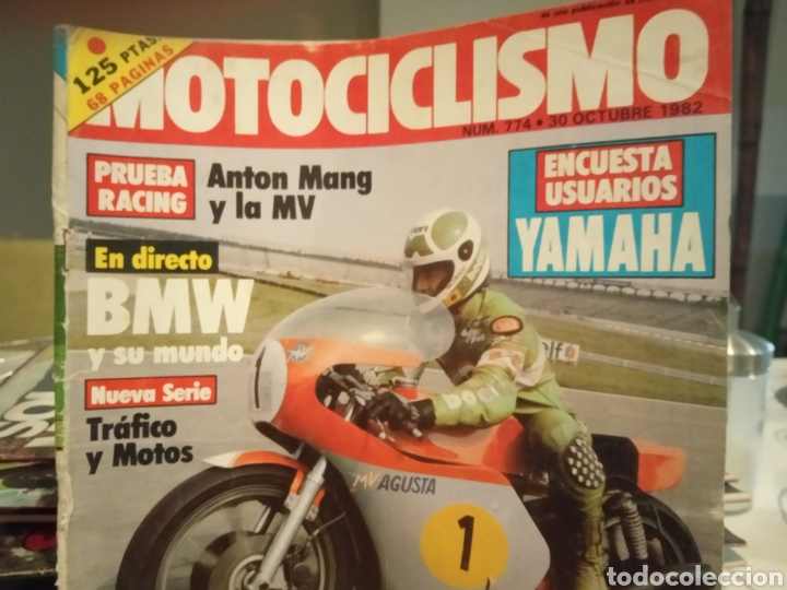 Coches y Motocicletas: REVISTA MOTOCICLISMO - NUMERO 774 - AÑO 1982 - Foto 2 - 190866861