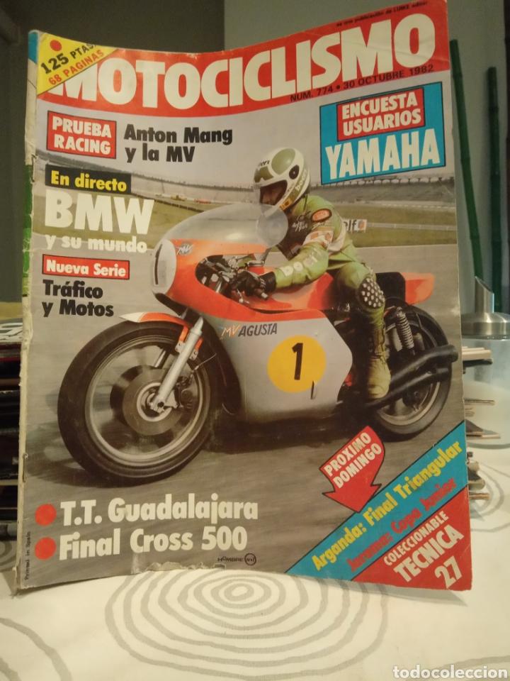 REVISTA MOTOCICLISMO - NUMERO 774 - AÑO 1982 (Coches y Motocicletas - Revistas de Motos y Motocicletas)