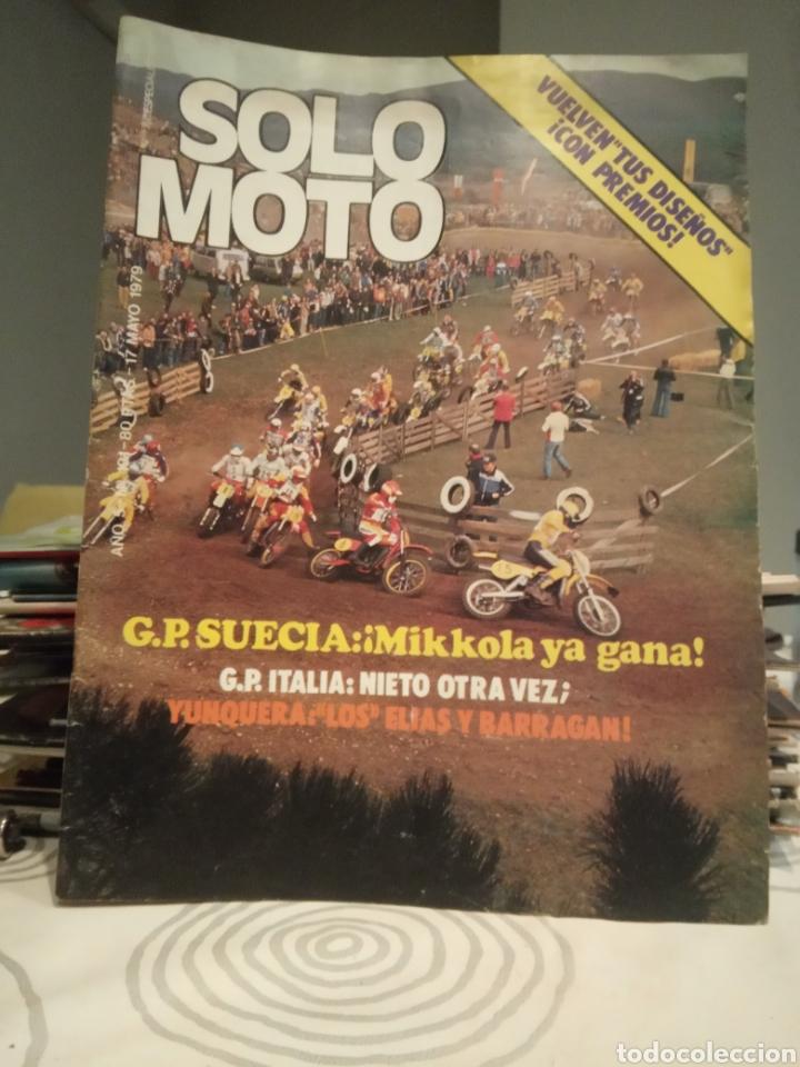 REVISTA SOLO MOTO - NUMERO 191 - AÑO 1979 (Coches y Motocicletas - Revistas de Motos y Motocicletas)