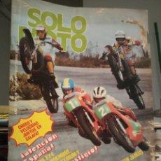 Coches y Motocicletas: REVISTA SOLO MOTO - NUMERO 211 - AÑO 1979. Lote 190867587