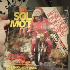 Coches y Motocicletas: REVISTA SOLO MOTO - NUMERO 190 - AÑO 1979. Lote 190998327