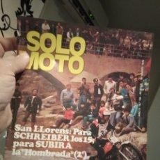 Coches y Motocicletas: REVISTA SOLO MOTO - NUMERO 184 - AÑO 1979. Lote 190999738