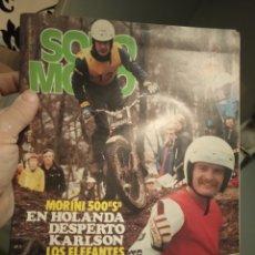 Coches y Motocicletas: REVISTA SOLO MOTO - NUMERO 183 - AÑO 1979. Lote 191000451