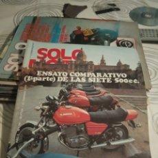 Coches y Motocicletas: REVISTA SOLO MOTO - NUMERO 181 - AÑO 1979. Lote 191004410