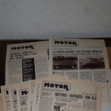 Coches y Motocicletas: LOTE 9 SUPLEMENTOS MOTOR AS COLOR. Lote 191039781