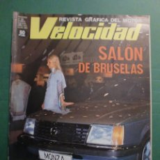 Coches y Motocicletas: VELOCIDAD Nº 854 21/0/1978 SEAT 127 1.010 C.C. - PEUGEOT 504 - G.P. ARGENTINA ANDRETTI LOTUS. Lote 191447137