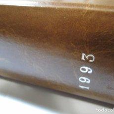 Coches y Motocicletas: LOTE 12 REVISTAS MOTOR CLASICO AÑO 1993 ENCUADERNADO DEL Nº60 AL Nº71. Lote 191586153