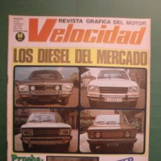 Carros e motociclos: VELOCIDAD Nº 909 10 FEBRERO 1979 TEST SEAT 131 132 SUPERMIRAFIORI PEUGEOT CHRYSLER - JEEP CROSS . Lote 191631863