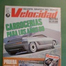 Coches y Motocicletas: VELOCIDAD Nº 974 10 MAYO 1980 CITROËN CX GTI - G.P. F1 BELGICA PIRONI - VESPINO - SUBIDA AL VIVERO. Lote 191862492