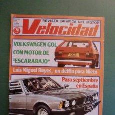 Coches y Motocicletas: VELOCIDAD Nº 982 5 JULIO 1980 VW GOL - PORSCHE 924 CARRERA GT - BMW 745 I - SEAT RITMO CLX - TALBOT. Lote 191916492