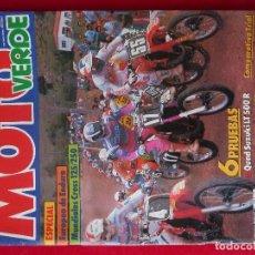 Coches y Motocicletas: MOTO VERDE-NUMERO 119·JUNIO 1988-REVISTA DE MOTOCICLISMO. Lote 192364438