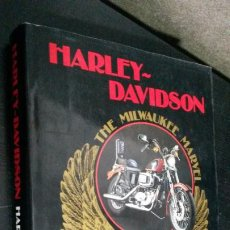 Coches y Motocicletas: HARLEY DAVIDSON: THE MILWAUKEE MARVEL. HARRY V. SUCHER. MOTOS. . Lote 192435263